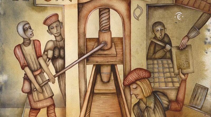 Презентация цикла картин художника Евгения Иванова, посвящённых жизни и наследию Франциска Скорины