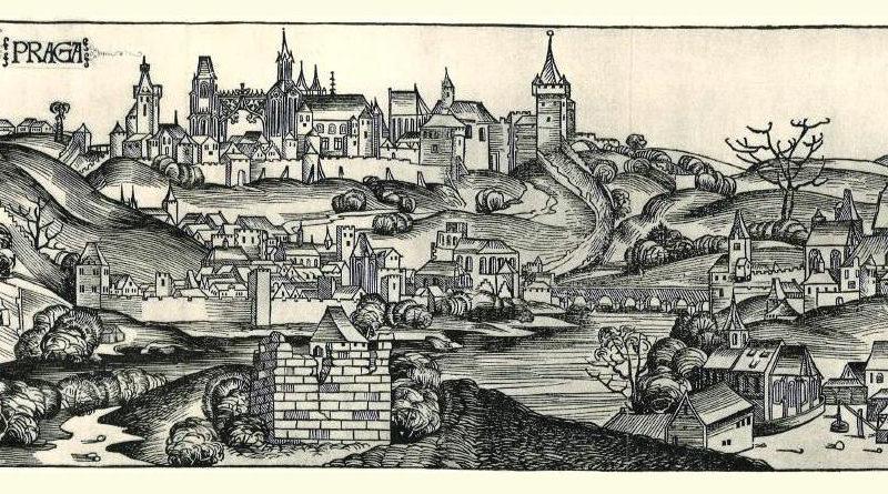 Praha. Source: Hartmann Schedels Weltchronik (1493)