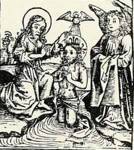 Гравюра «Малой подорожной книжки» (Вильно, 1522) Ф. Скорины.