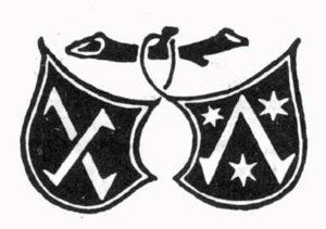 Издательский герб Фуста и Шёффера. Valerius Maxiumus. Mainz: P.Schoffer, 1471