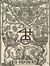 Издательский знак Б. Рамбольта № 2 [33, p. 961].