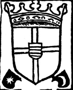 Издательский знак Говарта ван Гемена [19, колофон].