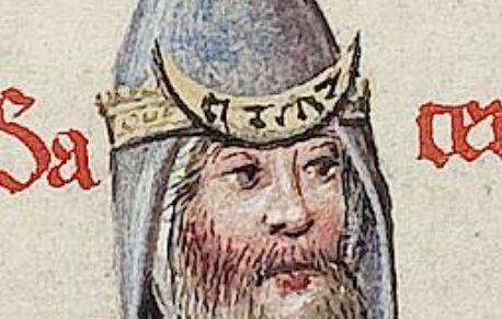 Аарон. Nicolaus de Lyre. Postilla litteralis super totam Bibliam Doering. – Straßburg: H. Ariminensis, 1477. – Bd. 1. – F. 128 v